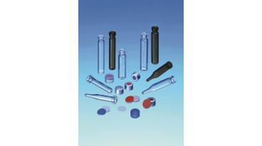 Cf 500 vials 0,2 ml crimp 8 mm vetro scuro fondo conico 6x32 mm