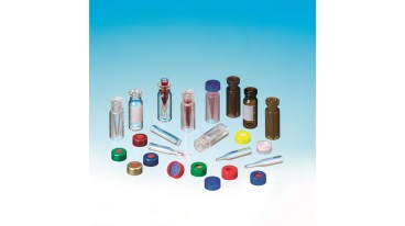Cf 100 vials 1,5 ml snap 11 mm vetro chiaro silanizzato High Recovery Reservoir 0,3 ml 12x32 mm