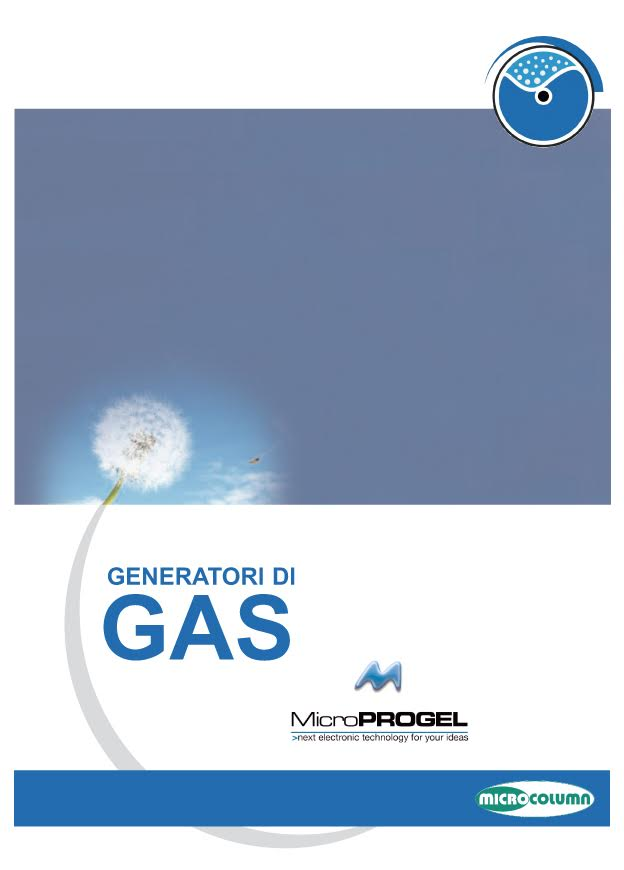 Microprogel Gas Generators Catalog
